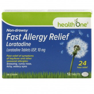 health One Non-Drowsy Fast Allergy Relief Loratadine Tablets