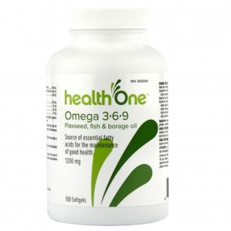 health One Omega 3-6-9 Softgels