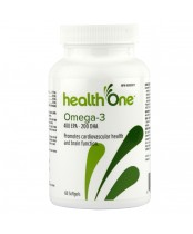 health One Omega-3 Softgels