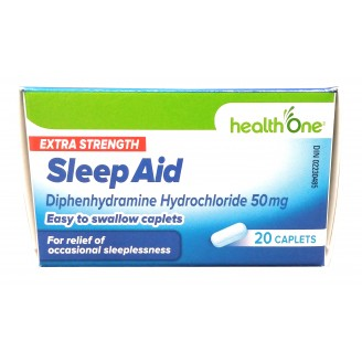 health One Sleep Aid Easy to Swallow Caplets