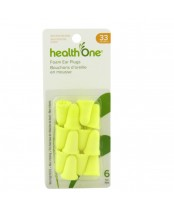 health One Soft Foam Ear Plugs