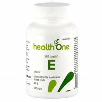 health One Vitamin E Softgels