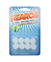 Hearos Multi-Use Silicone Clear Ear Plugs