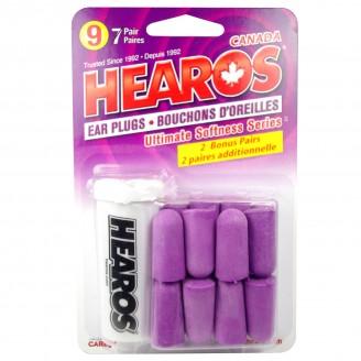 Hearos Ultimate Softness Series Ear Plugs Bonus Size