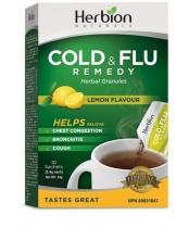 Herbion Naturals Cold and Flu - Lemon Flavour