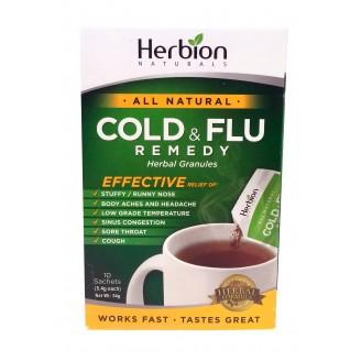 Herbion Naturals Cold & Flu Remedy