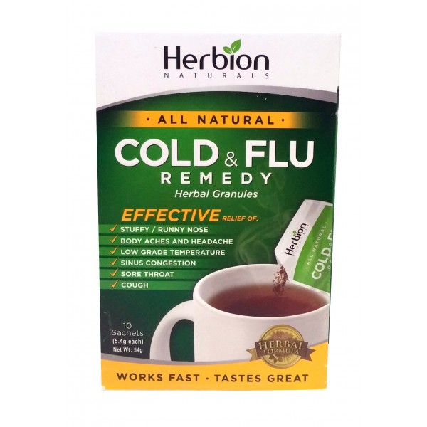 Buy Herbion Naturals Cold Amp Flu Remedy In Canada Free