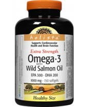 Holista Omega-3 Wild Salmon and Fish Oil