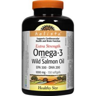 Holista Omega-3 Wild Salmon and Fish Oil