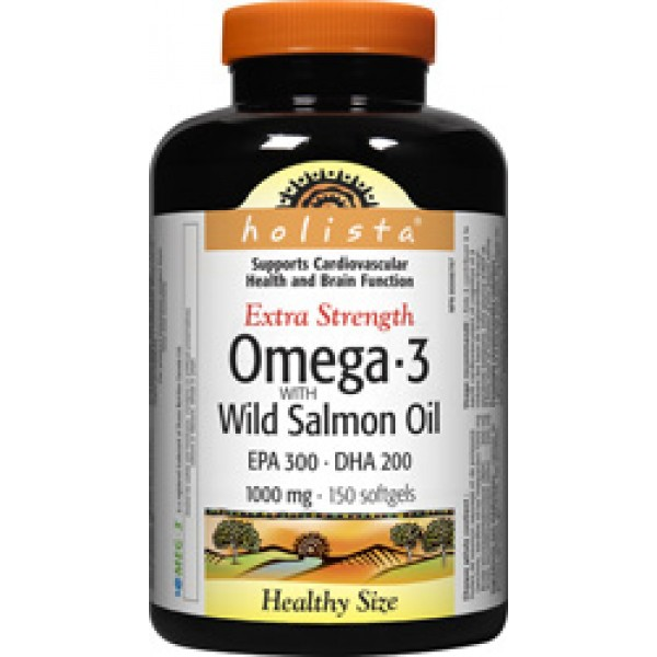 Buy holista omega 3 wild salmon and fish oil in canada for Salmon fish oil