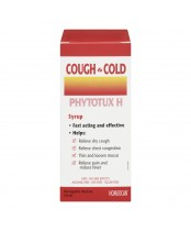 Homeocan Cough & Cold Phytotux H Syrup
