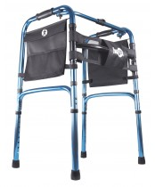 Hugo Adjustable Folding Walker with 5