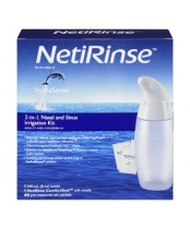 Hydrasense NetiRinse 2-in-1 Nasal and Sinus Irrigation Kit