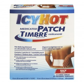 Icy Hot Medicated Back Patches