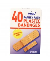 Ideal Family Pack Plastic Bandages