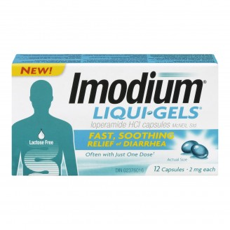 Imodium Liqui Gels Diarrhea Relief Capsules