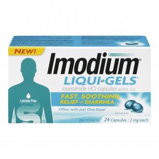Imodium Liqui Gels Diarrhea Relief Capsules
