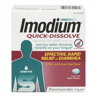 Imodium Quick Dissolve