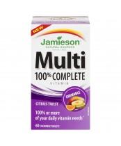 Jamieson 100% Complete Multi-Vitamin Citrus Twist Chewables