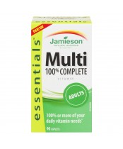 Jamieson 100% Complete Multi-Vitamin for Adults