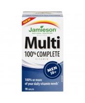 Jamieson 100% Complete Multi-Vitamin for Men  50+