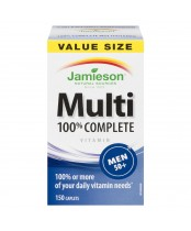 Jamieson 100% Complete Multi-Vitamin For Men 50+ Value Size
