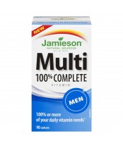 Jamieson 100% Complete Multi-Vitamin for Men
