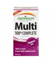 Jamieson 100% Complete Multi-Vitamin for Women 50+