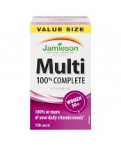 Jamieson 100% Complete Multi-Vitamin For Women 50+ Value Size