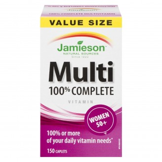 Jamieson 100% Complete Multi-Vitamin For Women 50+ Value Size