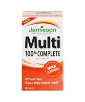 Jamieson 100% Complete Multi-Vitamin Max Strength