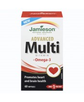 Jamieson Advanced Multi Vitamin + Omega-3