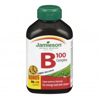 Jamieson B Complex 100 mg BONUS