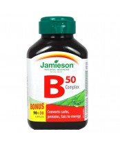 Jamieson B Complex 50 mg Bonus Size