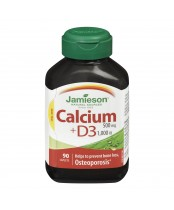 Jamieson Calcium 500 mg with Vitamin D 1,000 IU