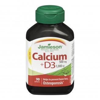 Jamieson Calcium 500 mg with Vitamin D 1,000 IU