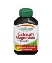 Jamieson Calcium Magnesium with Vitamin D Bonus Pack