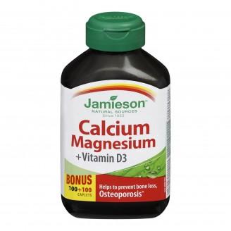 Jamieson Calcium Magnesium with Vitamin D Bonus Pack