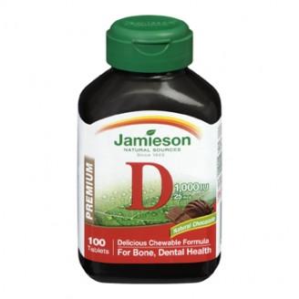 Jamieson Chewable Vitamin D3
