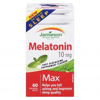 Jamieson Fast Dissolving Melatonin Tablets
