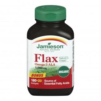Jamieson Flax 1,000 mg BONUS