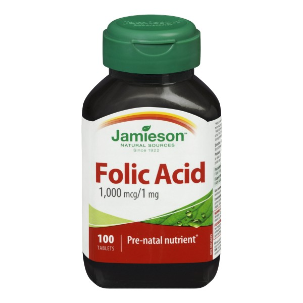 Folic acid 100 mg