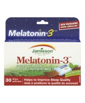 Jamieson High Potency Melatonin 3 mg