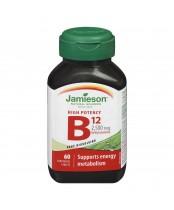 Jamieson High Potency Vitamin B12 Sublingual Tablets