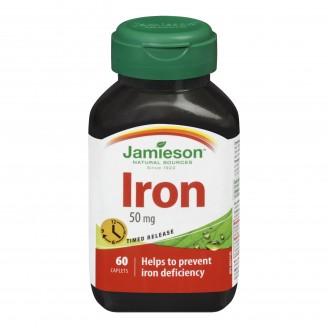 Jamieson Iron 50 mg Timed Release