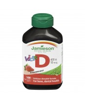 Jamieson Kid's Chewable Vitamin D 400 IU