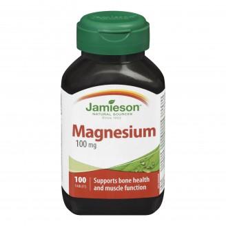 Jamieson Magnesium 100 mg