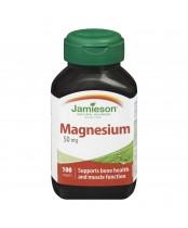 Jamieson Magnesium 50 mg
