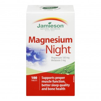 Jamieson Magnesium Night Tablets