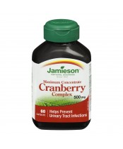 Jamieson Maximum Concentrate Cranberry Complex 500 mg